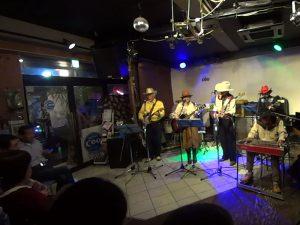 先々週東大和市で開催された「The Country Winds」ライブの様子