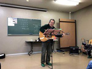 危うくギター漫談になりかけたN山さん。本番要注意です。b(^_^)